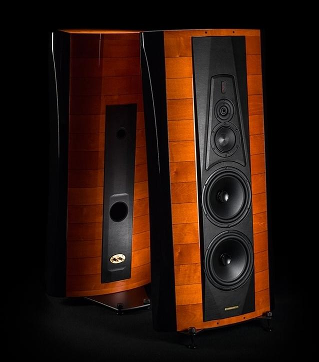 Sonus faber Stradivari high end hangfal