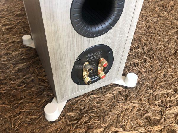 Monitor Audio Bronze 200 hangfal csatlakozó