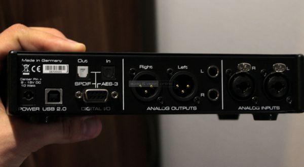 RME ADI-2 Pro DAC hátlap
