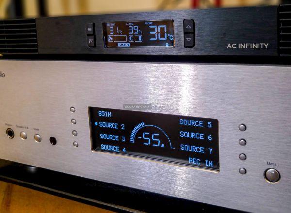 AC Infinity AIRCOM T10 hűtőventilátor rendszer