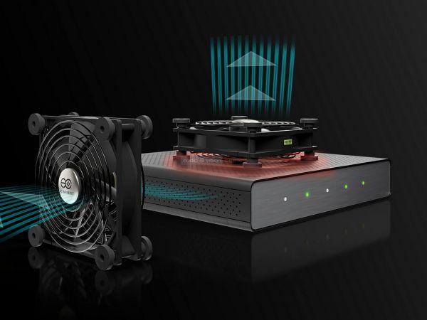 AC Infinity Multifan series hűtő ventilátor