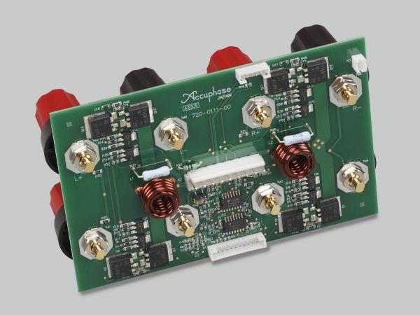 Accuphase E-480 sztereó erősítő hangfal csatlakozó