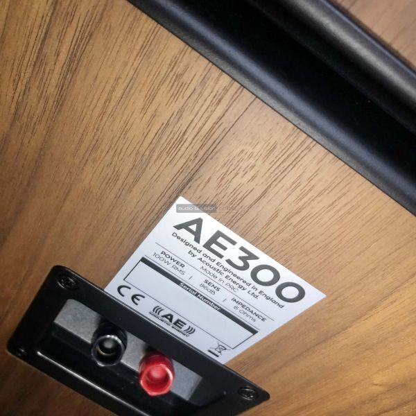 Acoustic Energy AE300 hangfal hátlap
