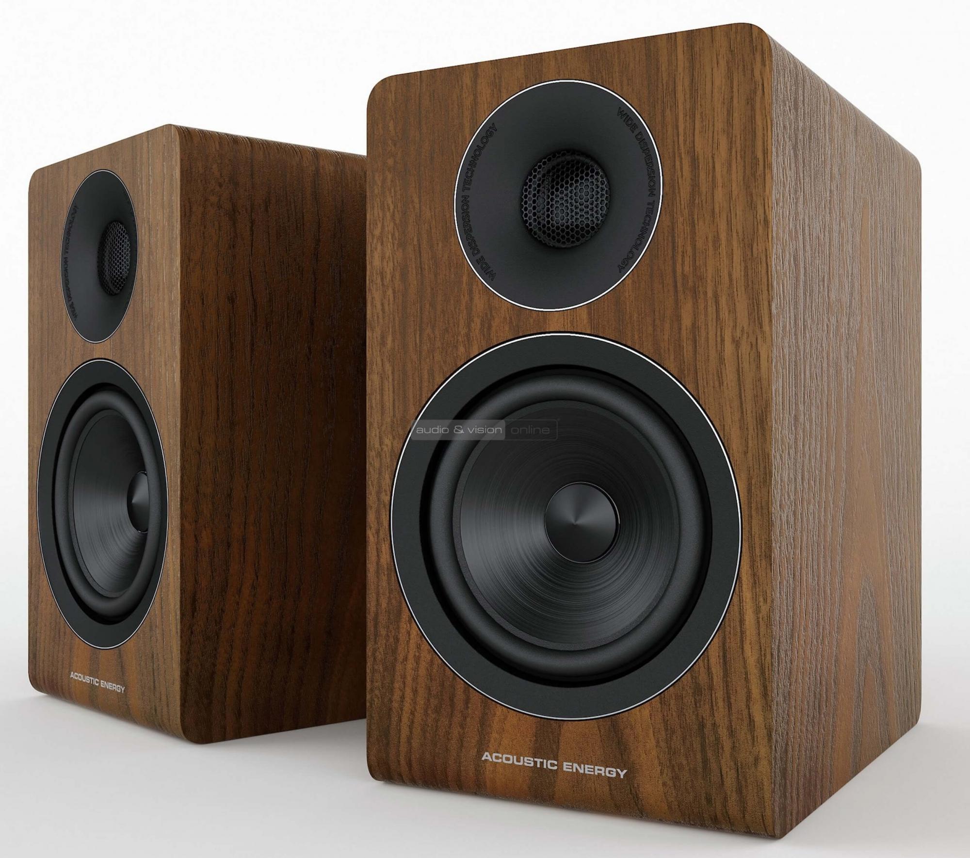 Acoustic Energy AE300 állványos hangfal teszt