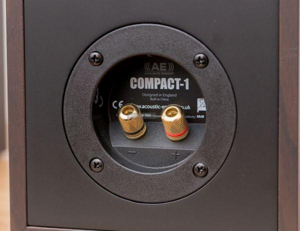 Acoustic Energy Compact 1 hangfal csatlakozó