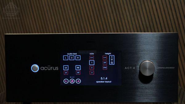 Acurus ACT4 házimozi processzor