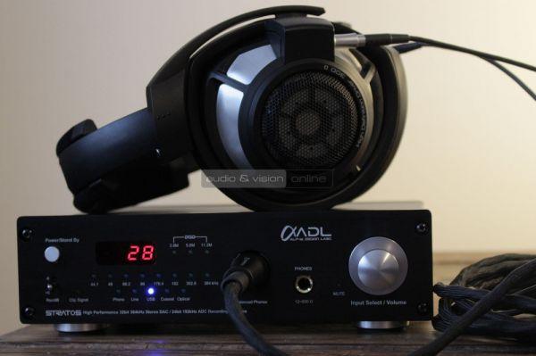 ADL Stratos USB DAC és fejhallgató erősítő