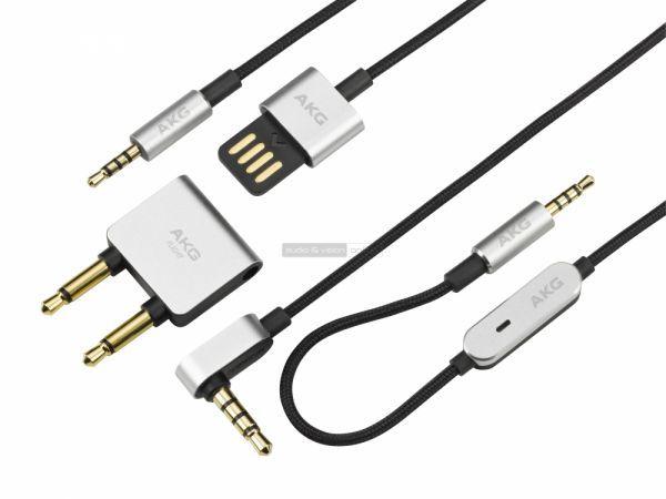 AKG N60NC zajzáras fejhallgató kábelek