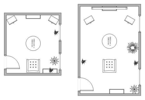 kis szoba - nagy szoba