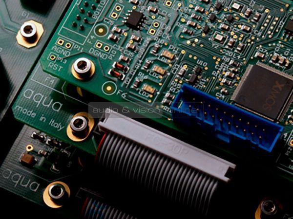 aqua acoustic Formula high end DAC belső