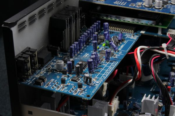Arcam AVR450 házimozi erősítő belső
