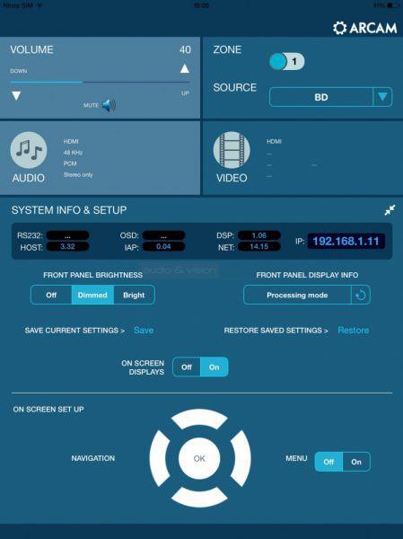 Arcam Remote App