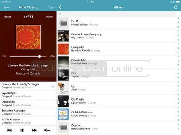 Arcam MusicLife UPnP App