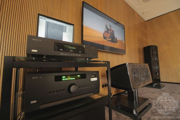Arcam AVR850 házimozi erősítő a Házimozi Stúdióban