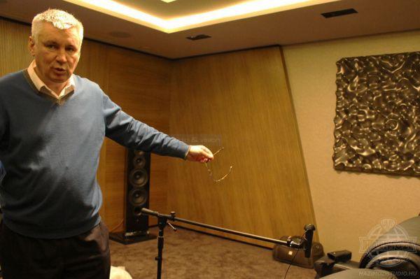 Alan Davidson az Arcam értékesítési menedzsere Magyarországon
