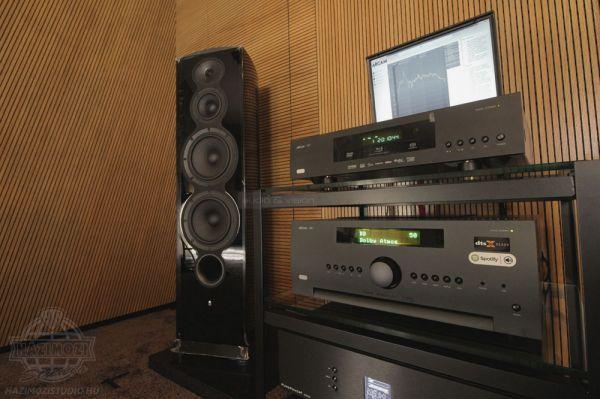 Arcam és Revel Dolby Atmos rendszer a Házimozi Stúdióban