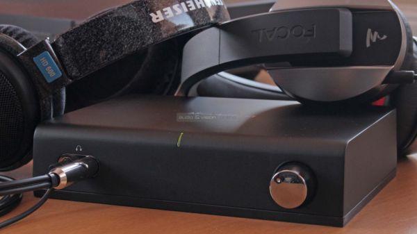 Arcam rHead fejhallgató erősítő és Sennheiser HD 600 valamint Focal Listen fejhallgatók