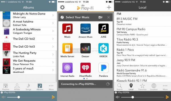 Arcam rPlay PlayFi App
