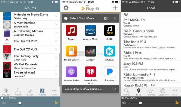 Arcam rPlay PlayFi App