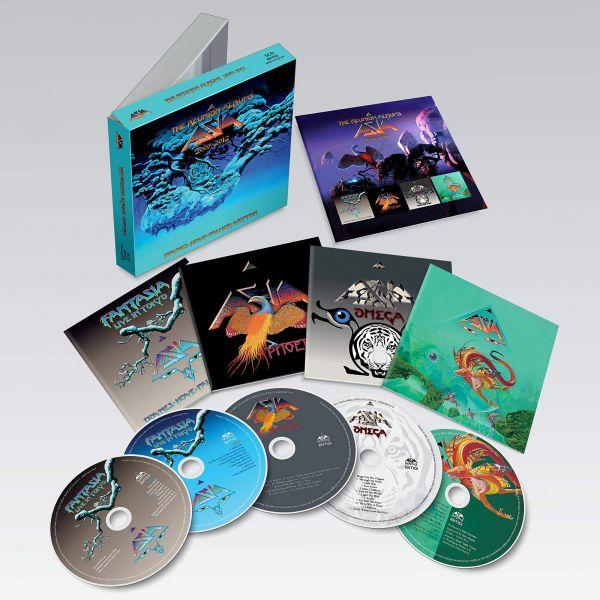 ASIA The Reunion Albums boxset