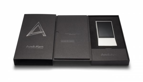 Astell&Kern AK Jr mobil hifi lejátszó doboza