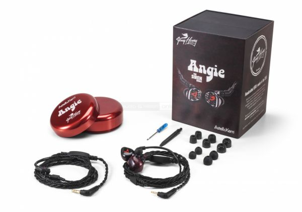 Astell and Kern Angie high-end fülhallgató