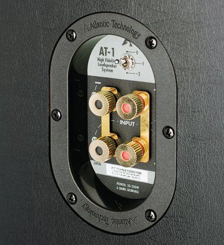 Atlantic Technology AT-1 csatlakozók