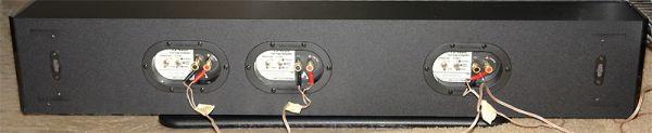 Atlantic Technology FS-5000 házimozi hangfal hátfal