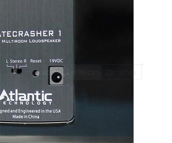 Atlantic Technology Gatecrasher 1 hangfal hátlap