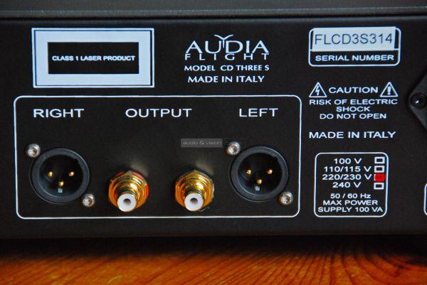Audia Flight FL CD Three S CD-lejátszó