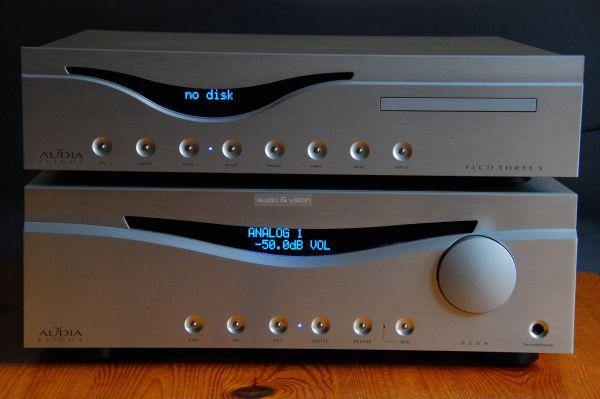 Audia Flight FLS9 sztereó erősítő FL CD Three S CD-lejátszó