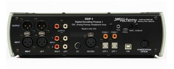 Audio Alchemy DDP-1 hátlap