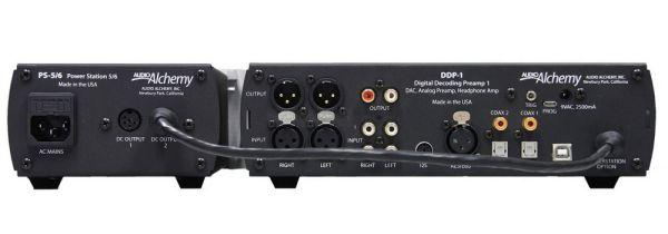 Audio Alchemy DDP-1 és PS-5 tápegység