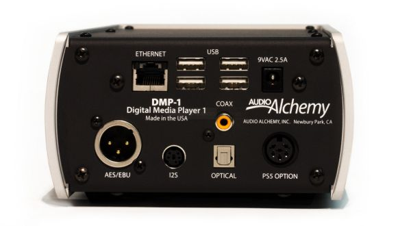 Audio Alchemy DMP-1 hátlap