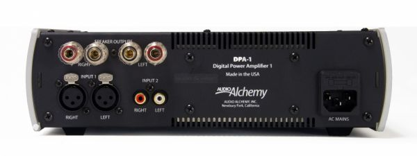 Audio Alchemy DPA-1 hátlap