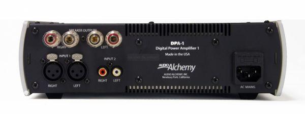 Audio Alchemy DPA-1 hátlap