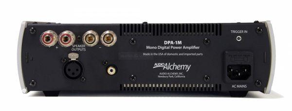 Audio Alchemy DPA-1M hátlap
