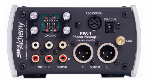 Audio Alchemy PPA-1 hátlap