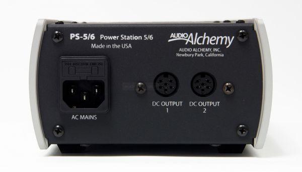 Audio Alchemy PS-5 tápegység hátlap