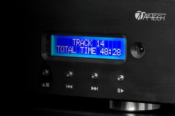 Audio Analogue Crescendo CD-lejátszó kijelző