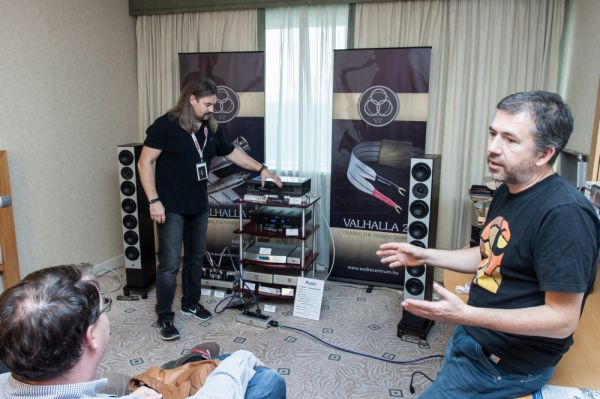 Audio and Vision Show 2013 Nordost - Audio Centrum