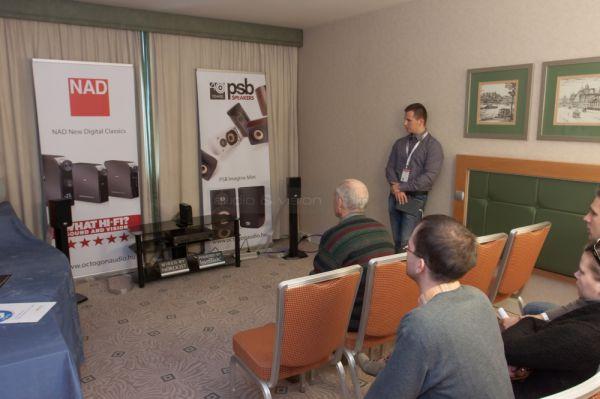 Audio and Vision Show 2013 NAD és PSB
