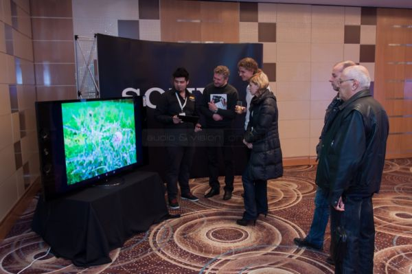 Audio and Vision Show 2013 Sony 4K/UHD TV