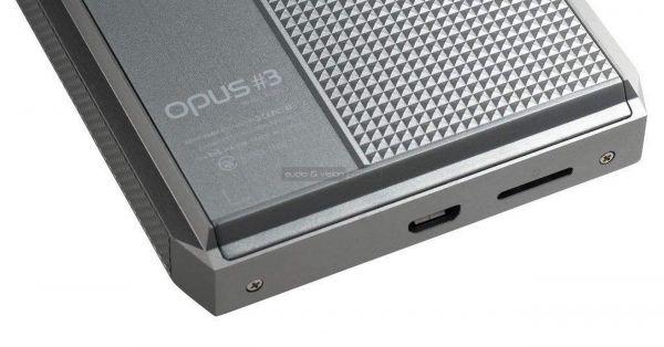 Audio-Opus 3 mobil zenelejátszó