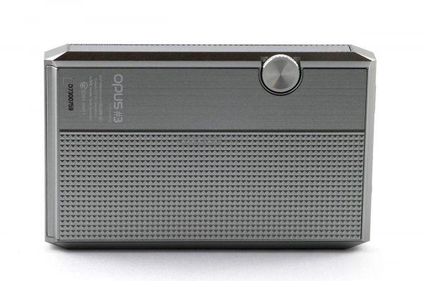 Audio-Opus 3 mobil zenelejátszó hátlap