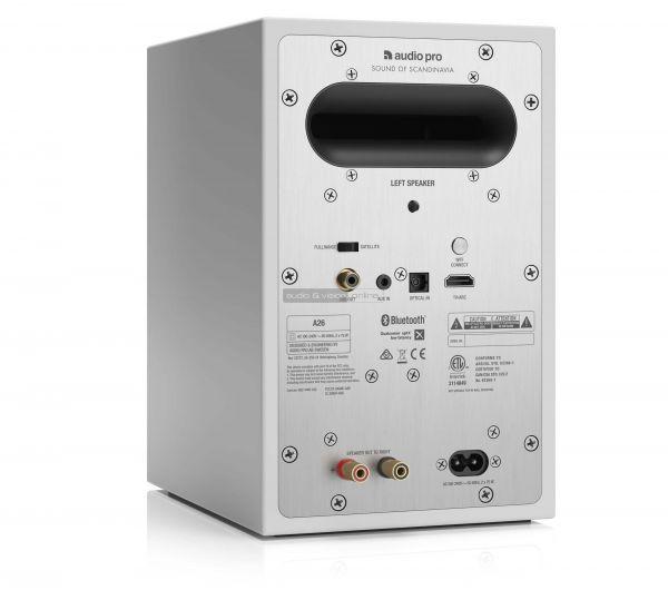 Audio Pro A26 aktív hangfal hátlap