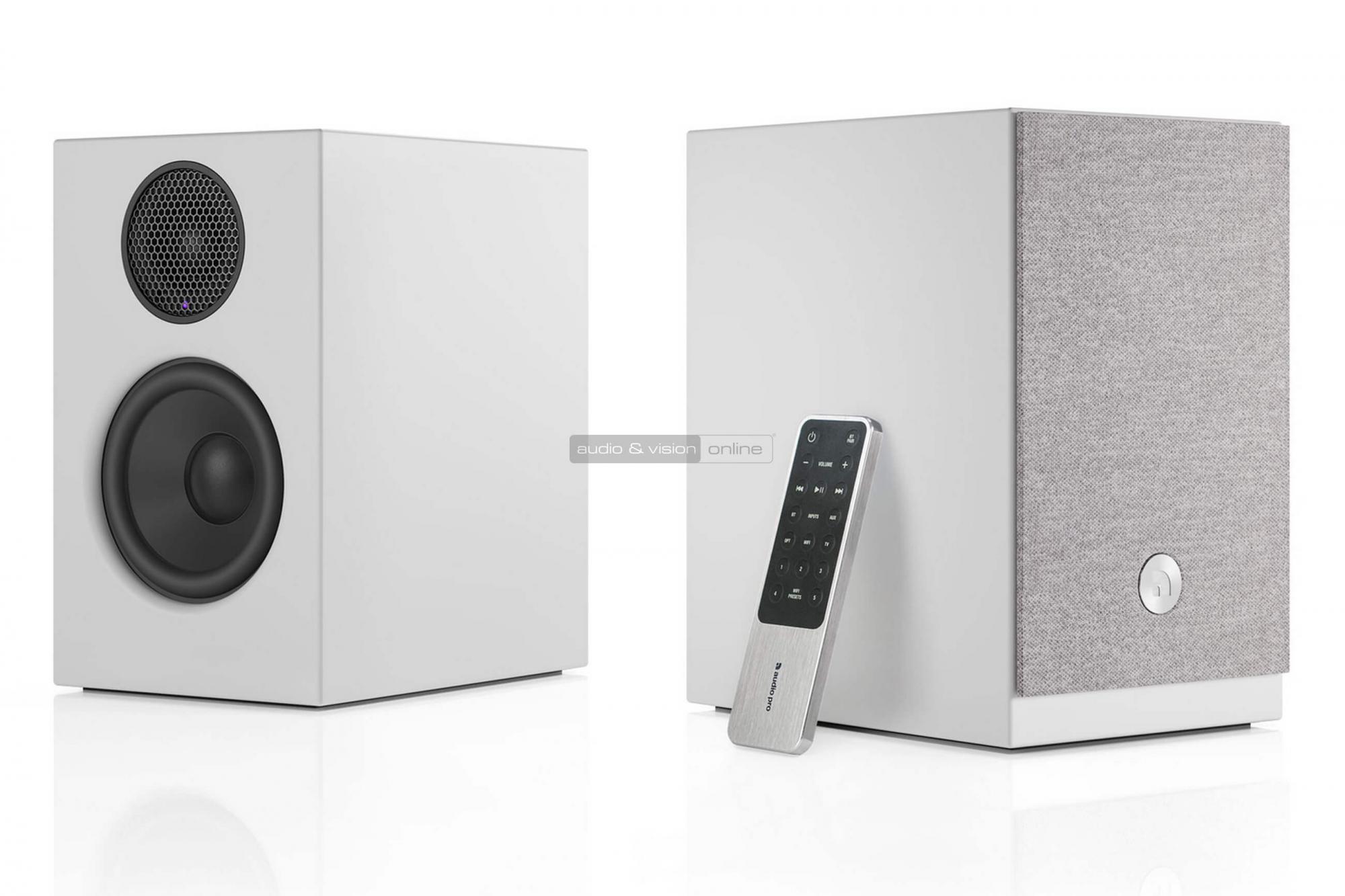 Audio Pro A26 aktív hangfal teszt
