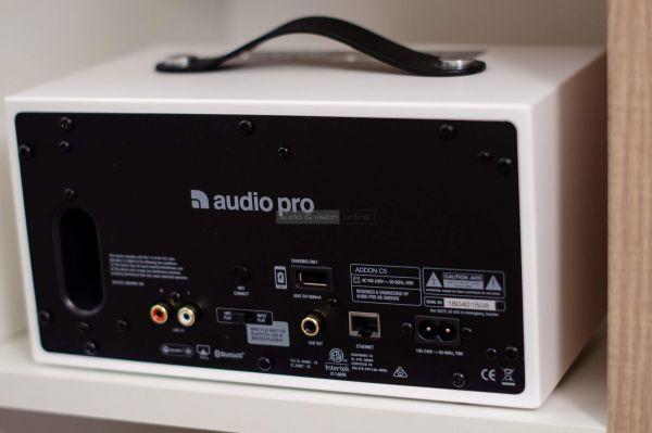 Audio Pro Addon C5 Bluetooth hangszóró hátlap