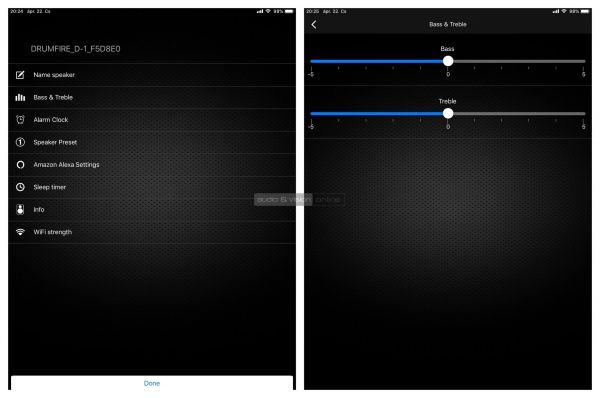 Audio Pro D-1 App