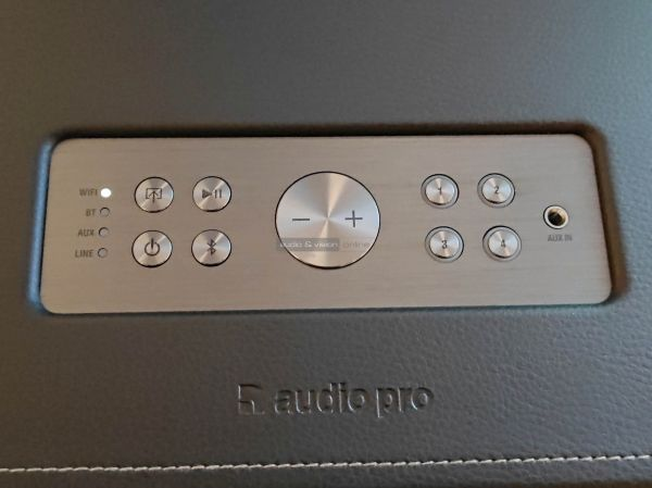 Audio Pro D-1 multiroom hangszóró control